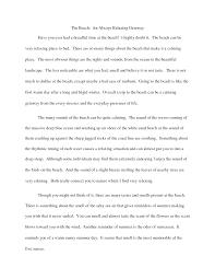 Examples Of College Compare And Contrast Essays Essay Sample Describe Yourself