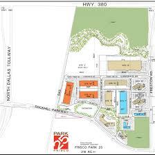 Frisco Texas Map Frisco Edc Launches Frisco Park 25 To Help Answer Demand For Flex