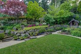 Rock Garden Beds Traditional Landscape And Yard With Raised Beds Rock Garden In