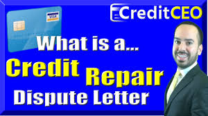 dispute credit report letter template what is a credit repair dispute letter youtube what is a credit repair dispute letter