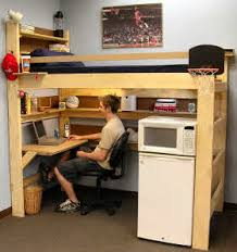 Loft Bed  Bunk Beds For Home  College Made In USA - Dorm bunk bed