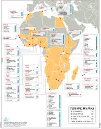 Africa On The Map by Tech Hubs Across Africa Which Will Be The Legacy Makers