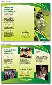 free indesign templates daycare preschool and health fitness