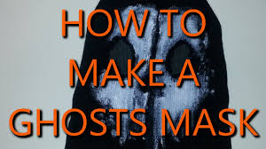Call Duty Black Ops Halloween Costumes Ghost Mask Ghost Mask Tutorial