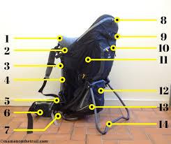 Kid Comfort Iii Deuter Kid Comfort 3 Child Carrier Backpack Review Maman On The