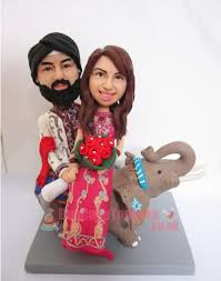 indian wedding cake toppers india wedding topper ride elephine custom cake toppers