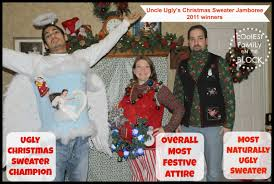 uncle ugly u0027s christmas sweater jamboree 2011 coolest family on