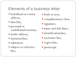 Business Letter Format Cc Before Enclosure Business Letter Writing Ppt Video Online Download