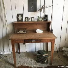 bureau en bois ancien bureau ancien en bois boutique brocante de la bruyère objets