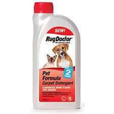 Rug Doctor Carpet Cleaner Pet Formula Carpet Detergent U2013 1ltr U2013 Rug Doctor