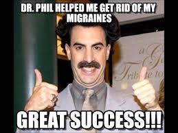 Borat Not Meme - borat dr phil hitler take on cruise and prayer hotline
