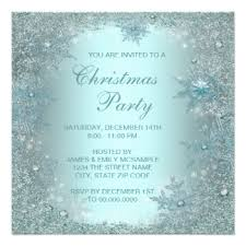 Christmas Party Invitations With Rsvp Cards - elegant christmas party invitations u0026 announcements zazzle