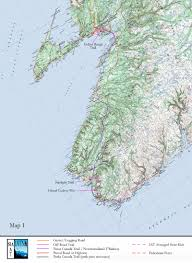 Appalachian Mountains Canada Map by International Appalachian Trail Newfoundland And Labrador