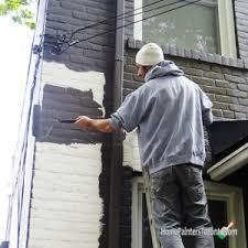 Painting Exterior Brick Wall - spray paint house exterior how to paint exterior brick walls you