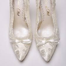 wedding shoes ivory lace wedding shoes lace bridal shoes house of elliot