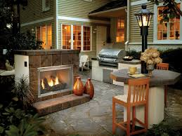 outside gas fireplace kits deck design and ideas