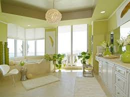 house of paints minimalist interior painting with green and white painting part of