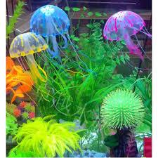 Betta Fish Decorations Glowing Effect Artificial Jellyfish Fish Tank Aquarium Decoration