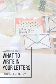 paper to write letters 98 best it s in the mail images on pinterest happy mail pocket what to write in your pocket letter by pocket letters creator janette lane