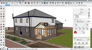 sketchup 2016 creating the layout of a building sketchup
