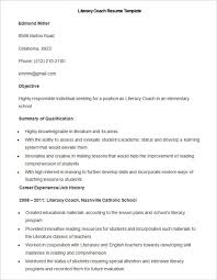Soccer Coach Resume Template Curriculum Coach Cover Letter