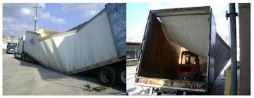 trailer collapse expert investigates semi trailer that collapsed