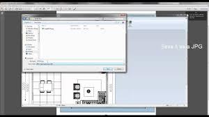 insert a pdf floor plan in mhd convert to jpg youtube