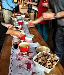 fondue party on the fly the good food awards and making the most