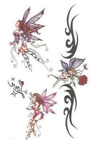 cute and sweet or dark and devious fairy tattoo ideas fairy