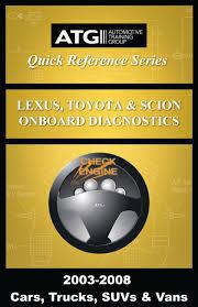 lexus toyota and atg automotive training group inc lexus toyota and scion obdii