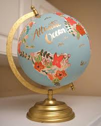 World Globe Map Custom 12