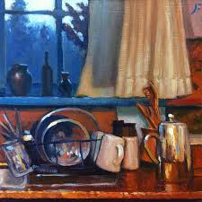 THE KITCHEN SINK Daily Painting   A FARNSWORTH A DAY - Kitchen sink paint