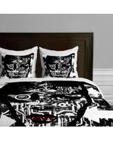 deal alert black and white duvet covers
