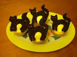 Black Halloween Cake by Black Cat Halloween Cupcakes Youtube