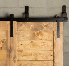 bypass barn door hardware affordable barn track hardware diy