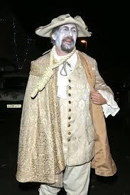 stephen fry dresses as a pirate for the jonathan ross halloween