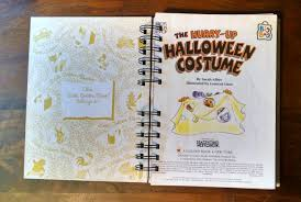 halloween journal the hurry up halloween costume recycled journal book u2013 paper