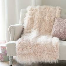 light pink fur blanket it s love at first blush with this pretty pillow crafted by hand