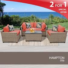 hampton patio furniture 5 piece outdoor furniture set rattan patio furniture set