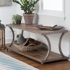 Living Room Tables On Sale by Belham Living Edison Reclaimed Wood Coffee Table Hayneedle