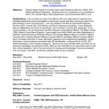 Retired Military Resume Examples Cover Letter Army To Civilian Resume Examples Army To Civilian
