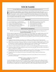 accounts payable resume format accounts payable resume resumes