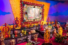 Dia De Los Muertos Halloween Decorations Dia De Los Muertos Altar U0027s Rhiannon U0027s Interiors