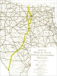 Texas Highway Map File Interstate 35 Corridor 1919 Roadmap Jpg Wikipedia