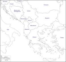 Italy Greece Map by Balkans Free Map Free Blank Map Free Outline Map Free Base Map