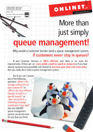 onlinet cds queue management software