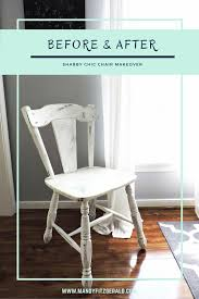 Shabby Chic Chair by Before U0026 After Shabby Chic Chair Makeover Mandyfitzgerald