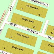 map usj 23 map of jalan industri usj 1 1