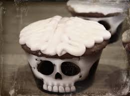 easy halloween treat brain cupcakes masshole mommy