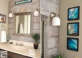 Beachy Bathroom Mirrors Bathroom Mirror Bathrooms